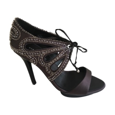 Peep-Toe Pumps KAREN MILLEN Brown