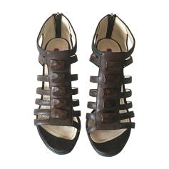 Sandali con tacchi CESARE PACIOTTI Marrone