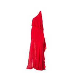 Robe longue PATRIZIA PEPE Rouge, bordeaux