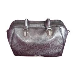 Leather Handbag LIU JO Silver