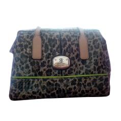 Leather Handbag GUESS Brown