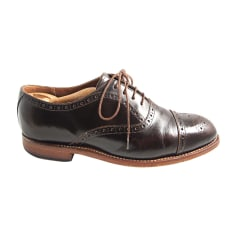 Lace Up Shoes GRENSON Brown