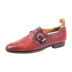 Loafers BRUNO MAGLI Red, burgundy