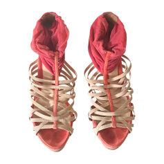 Sandales à talons FENDI Multicouleur