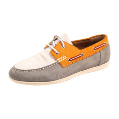 Lace Up Shoes BALLY Gray, charcoal