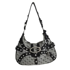 Non-Leather Handbag GUESS Black