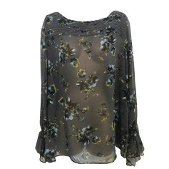 Blouse GERARD DAREL Gray, charcoal