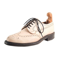 Lace Up Shoes CHURCH'S IVORY