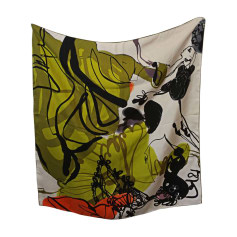 Silk Scarf CHRISTIAN LACROIX Green