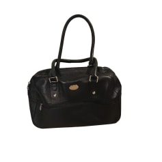 Leather Oversize Bag MAC DOUGLAS Black
