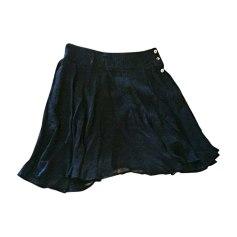 Jupe courte KENZO fondo blu a pois nero