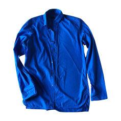Chemise LANVIN Bleu, bleu marine, bleu turquoise