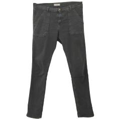 Straight Leg Pants BA&SH Gray, charcoal