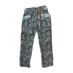 Pantalone dritto ISABEL MARANT Multicolore