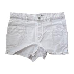 Calzoncino ISABEL MARANT Bianco, bianco sporco, ecru