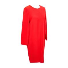 Midi Dress VICTORIA BECKHAM Red, burgundy