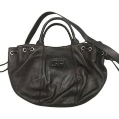 Leather Handbag SONIA RYKIEL Brown