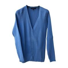 Gilet, cardigan GUCCI Bleu, bleu marine, bleu turquoise