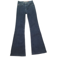 Boot-cut Jeans, Flares GUESS Blue, navy, turquoise