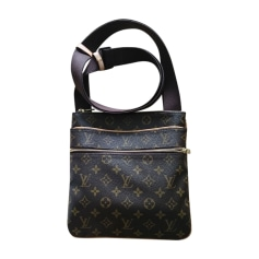 Sacoche LOUIS VUITTON Marron