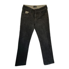 Jeans droit ARMANI JEANS Gris, anthracite