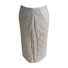 Midi Skirt CHRISTOPHE LEMAIRE Gray, charcoal