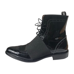 Flat Boots GIVENCHY Black