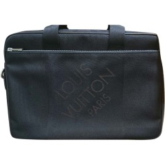 Briefcase, folder LOUIS VUITTON Black