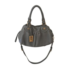 Sac à main en cuir MARC JACOBS Gris, anthracite