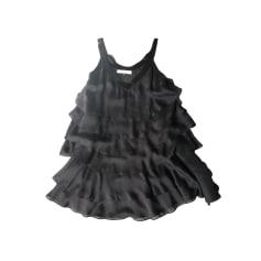 Robe courte TARA JARMON Noir