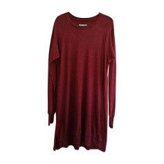 Midi Dress ISABEL MARANT ETOILE Red, burgundy