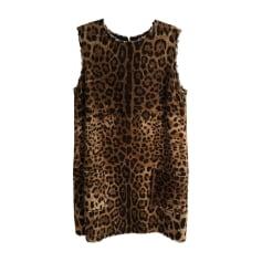 Mini Dress DOLCE & GABBANA Animal prints
