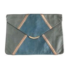 Sac pochette en cuir CHLOÉ Bleu et gris