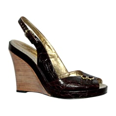 Wedges BARBARA BUI Brown