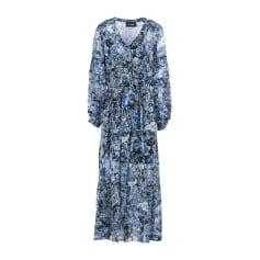 Robe longue THE KOOPLES Bleu, bleu marine, bleu turquoise