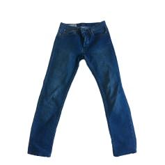 Jeans slim A.P.C. Bleu, bleu marine, bleu turquoise