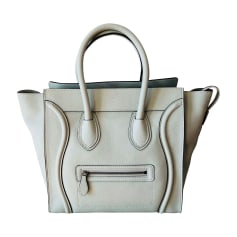 Leather Handbag CÉLINE Luggage Autre
