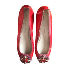 Ballerines MARC JACOBS Rouge, bordeaux