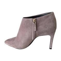 High Heel Ankle Boots LANVIN Gray, charcoal
