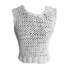 Sweater SONIA RYKIEL White, off-white, ecru