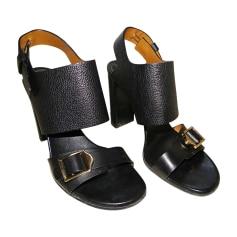 Sandales à talons CHLOÉ Noir