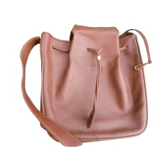 Leather Shoulder Bag LONGCHAMP Brown
