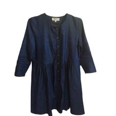 Robe en jeans BALZAC PARIS Bleu, bleu marine, bleu turquoise