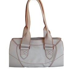 Leather Handbag LANCEL Beige, camel