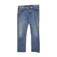 Straight Leg Jeans EMPORIO ARMANI Blue, navy, turquoise