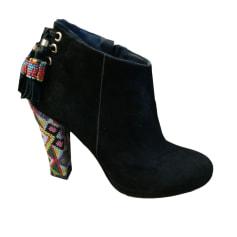 Bottines & low boots à talons MANOUSH Noir