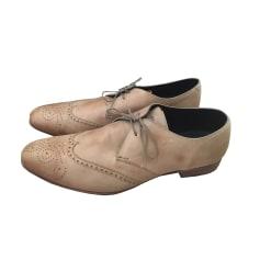 Chaussures à lacets HESCHUNG Blanc, blanc cassé, écru