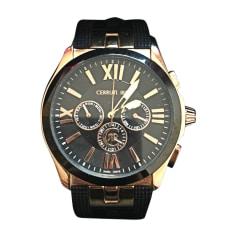 Wrist Watch CERRUTI 1881 Black