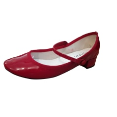 Dance Shoes REPETTO Red, burgundy