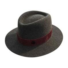 Wedding Hats MAISON MICHEL Gray, charcoal